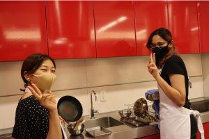 共立メンテナンスが寮生に料理講習会を実施 大和学園が協力